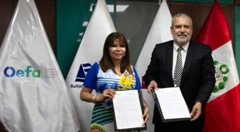 Perú firma convenio cooperación fortalecer supervisión recursos hídricos