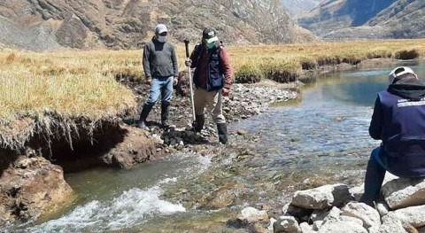 Perú contabiliza 1.089 fuentes naturales agua superficial San Miguel Cauri, Lauricocha