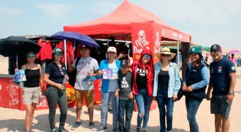 ANA Perú promueve conciencia social agua Rally Dakar 2019
