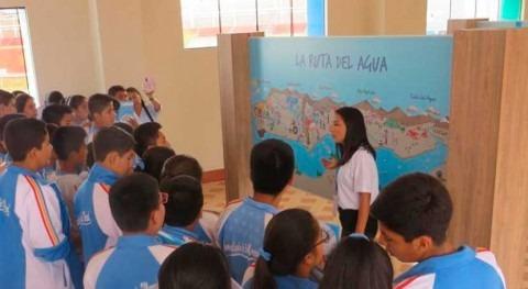 ANA Perú educa alumnos materia conservación y protección agua