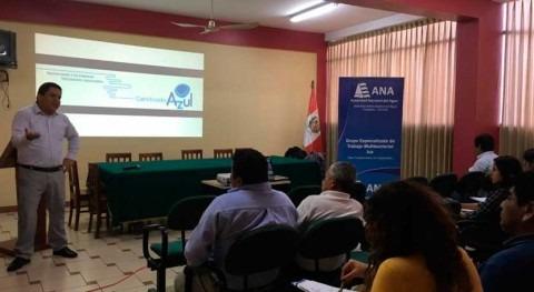 Perú promueve 'Programa Huella Hídrica' buenas prácticas hídricas Valle Ica