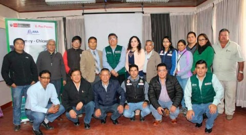 ANA Perú capacita 60 representantes gestión y uso fajas marginales