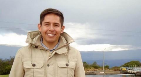 """Andrés Martinez M  durante su visita de campo a Ecuador en la Planta de """"El Troje"""" perteneciente a Aguas de Quito (EPMAPS EP)."""
