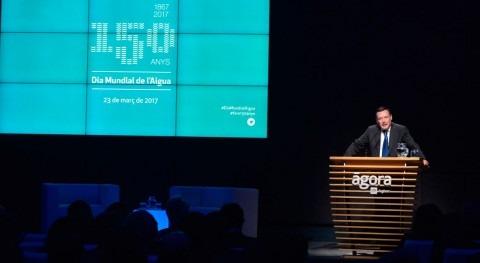 """Angel Simón: """"Aigües Barcelona seguirá ofreciendo servicio más eficiente y mayor calidad"""""""