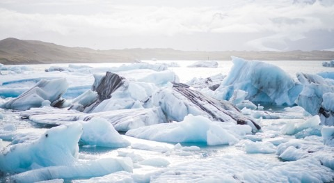 Tormentas Océano Austral dejan hielo marino Antártida niveles mínimos