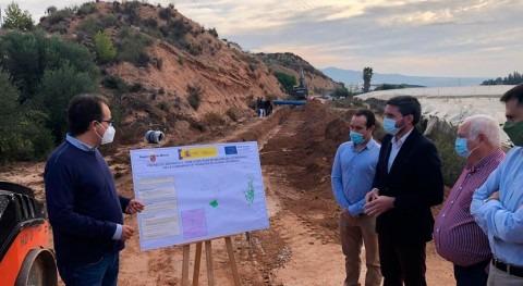 Región Murcia avanza modernización regadíos 400.000 euros Alhama