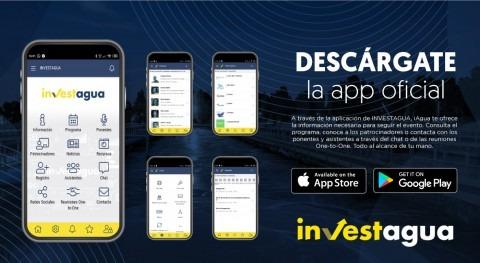 INVESTAGUA lanza app exclusiva que dará acceso reuniones One to One delegados