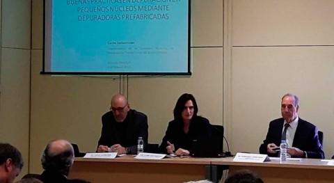 Aqua España explica cómo debe ser depuración pequeños núcleos Smagua 2019