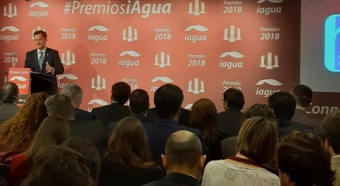Aqua España recibe premio 2018 trayectoria sectorial