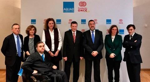 Aquae y ONCE renuevan compromiso mundo mayor igualdad y acceso al agua