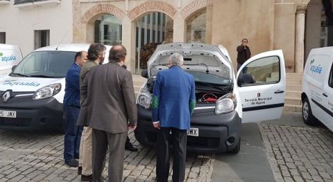 Servicio Municipal Agua Badajoz incorpora 10 vehículos eléctricos flota