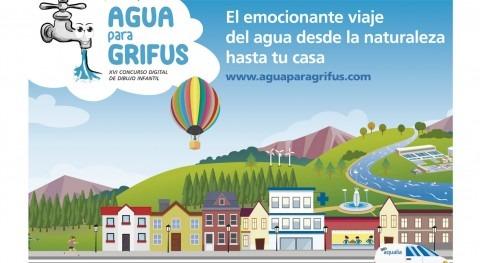 """Más 8.000 escolares participan XVI edición certamen """"Agua Grifus"""" Aqualia"""