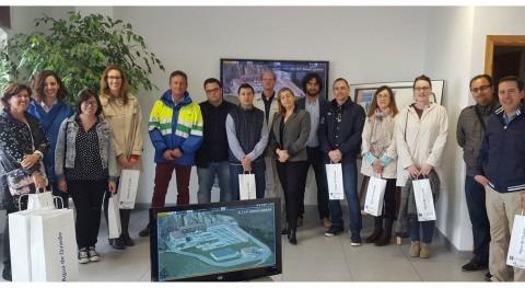 alumnos Master Internacional Universidad Oviedo conocen ETAP Cabornio