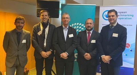 servicio Aguas Badajoz, operado Aqualia, gana tres estrellas europeas gestión