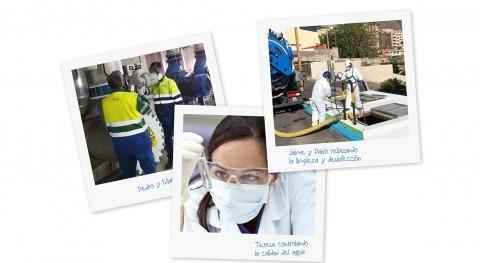 Seguridad y Salud, factores prioritarios prestación servicios agua urbana