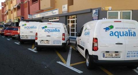 Aqualia renueva flota vehículos Servicio Municipal Aguas Candelaria