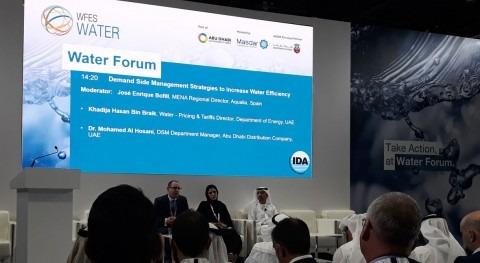 gestión inteligente y modelo economía circular Aqualia, claves Abu Dabi