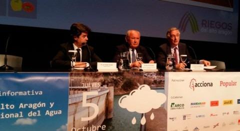 Aragón ofrece al Gobierno experiencia pactista materia agua