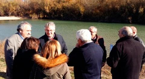Aragón quiere que cuadrillas Sarga realicen gestión forestal ribera Ebro