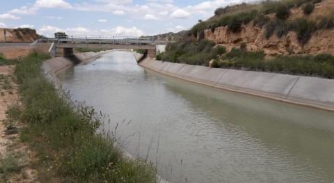 Mantenimiento infraestructuras Canal Aragón y Cataluña (Huesca) y Guiamets (Tarragona)