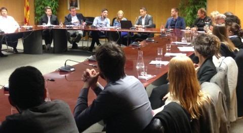 delegación argentina se interesa modelo gestión agua Cataluña