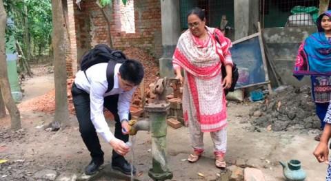 smartphone salva vidas: Desarrollan test móviles que detecta arsénico agua