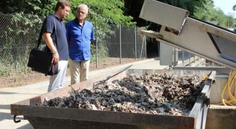 Girona retira 7 toneladas toallitas húmedas EDAR cada mes