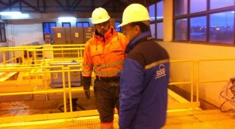 SISS visita la planta de tratamiento de aguas de Puerto Natales