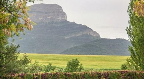 Se descartan daños campo lluvias este sábado Huesca