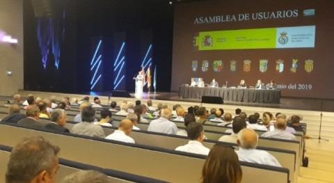 Reunión constituyente Asamblea Usuarios Confederación Hidrográfica Ebro
