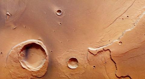 Descubiertos restos enorme inundación Marte