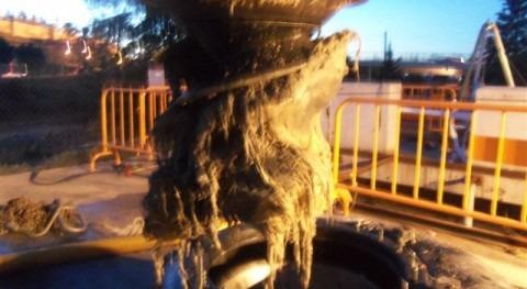 Avería en la red de saneamiento de Badajoz (FCC Aqualia)