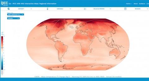 CSIC elabora atlas interactivo cambio climático IPCC