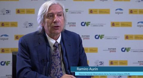 """R. Aurín: """" reto políticas públicas es urbanización países latinoamericanos"""""""