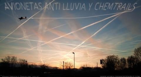 Mitos y timos agua: Avionetas anti-lluvia y chemtrails