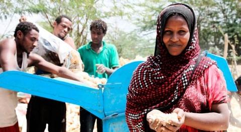 Etiopía necesita ayuda urgente temporada agrícola sequía