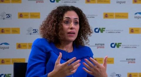 """Aziza Akhmouch: """"Estamos observando aumento conflictos potenciales torno al agua"""""""