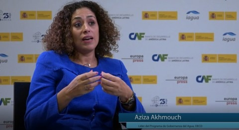 "Aziza Akhmouch: ""Todavía cuesta entender que agua no es problema sectorial, sino económico"""