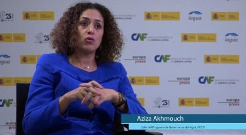 """Aziza Akhmouch: """"Si no hay datos agua, no se puede guiar toma decisiones"""""""