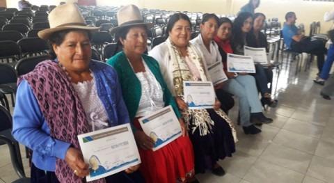 Azuay acogió primer encuentro mujer y agua ruralidad