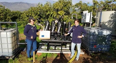 Soluciones sostenibles gestión eficiente agua agricultura y industria