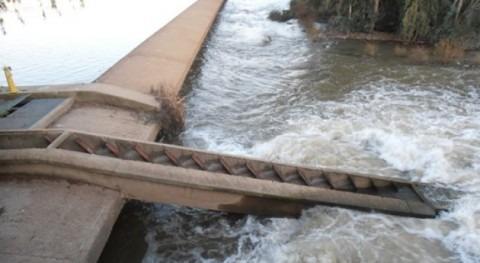 Confederación Hidrográfica Guadiana abre Azud Granadilla