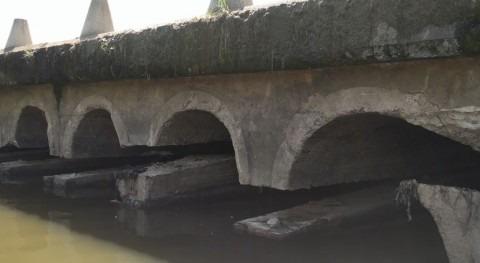 Licitada reparación paso Guadiana conocida como Badén Torremayor, Mérida
