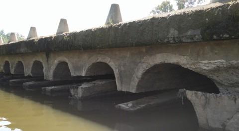 Realizadas obras emergencia reparar badén Torremayor, Mérida