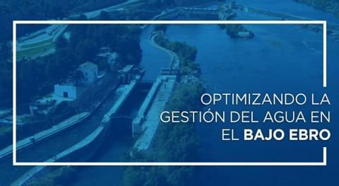 Optimizando gestión agua Ebro