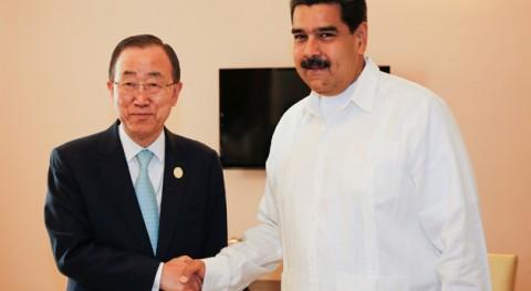 "Ban Ki Moon: "" falta alimentos y agua Venezuela provoca crisis humanitaria"""