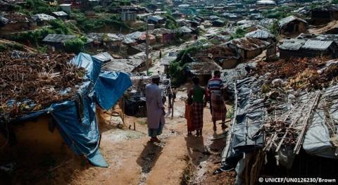 marcha plan prevención mitigar riesgo brote cólera Bangladesh