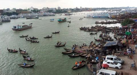 Silos domésticos combatir falta agua y comida Bangladesh inundaciones
