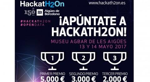 Pon tu creatividad al servicio agua: ¡Inscríbete ya HackatH2On 2017!