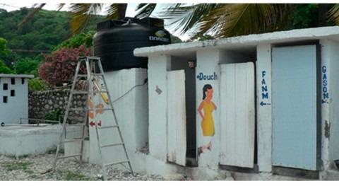 ¿Qué está haciendo Cooperación Española saneamiento Haití?
